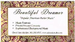 Beautiful Dreamer Business Card