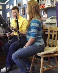 Coaching Clarinet